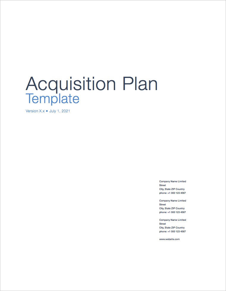Acquisition_Plan_Template_Cover_Page
