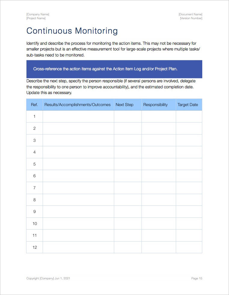 Action_Plan_Template_iWork_Pages_Continuous_Monitoring