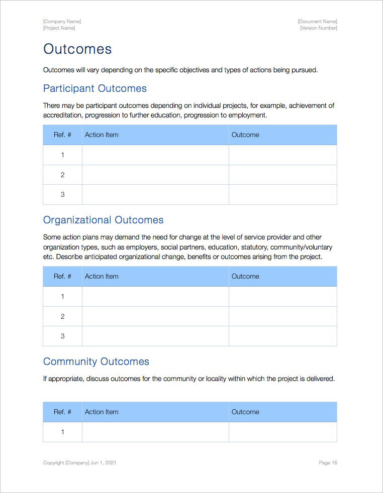 Action_Plan_Template_iWork_Pages_Outcomes