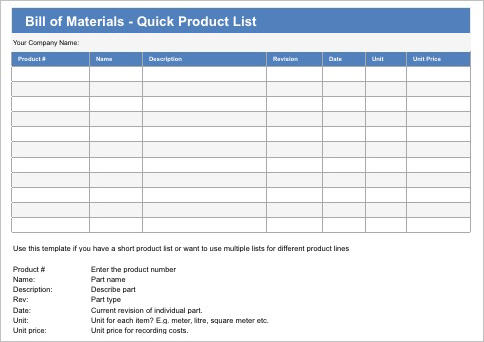 Bill_of_Materials_-_Quick_Product_List_Template_Apple_iWork_Numbers