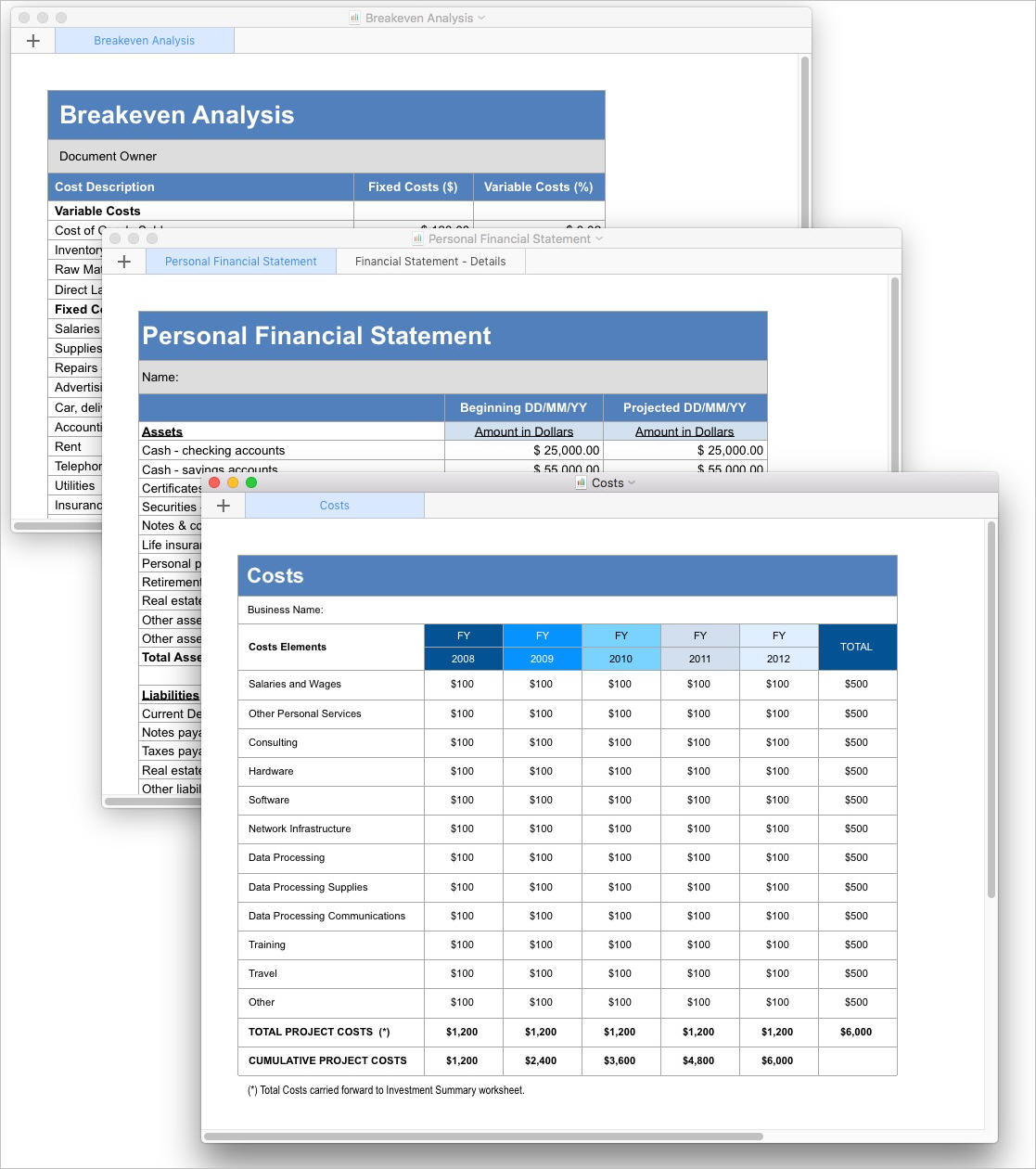 Business_PlanCosts_and_Personal_Financial_Statement_and_Breakeven_Analysis_Apple_Numbers_Template