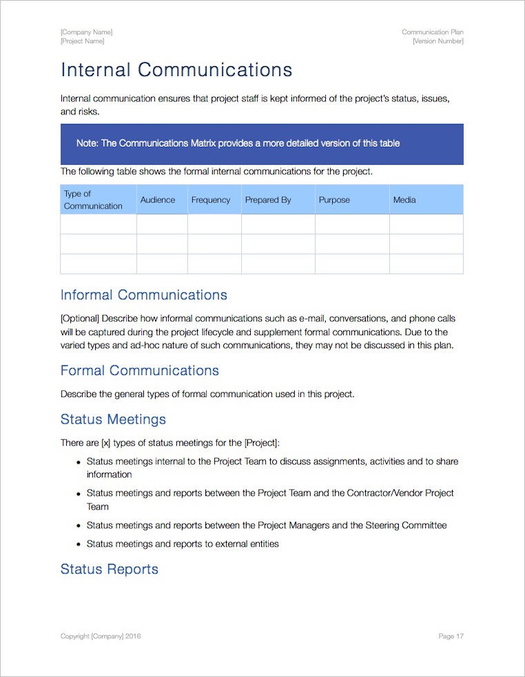 Communication_Plan_Template_Apple_iWork_Pages_Internal_Comms