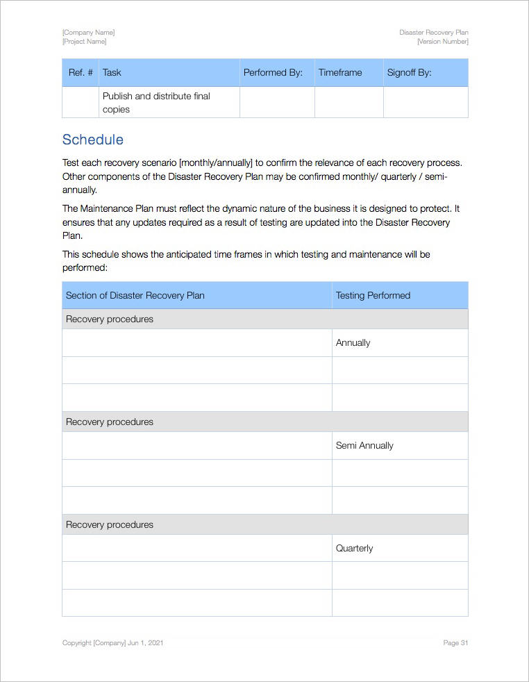 Disaster_Recovery_Plan_Template-Apple-iWork-schedule