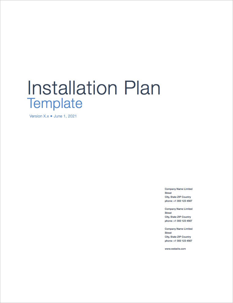 Installation_Plan_Template_Apple_iWork_Pages