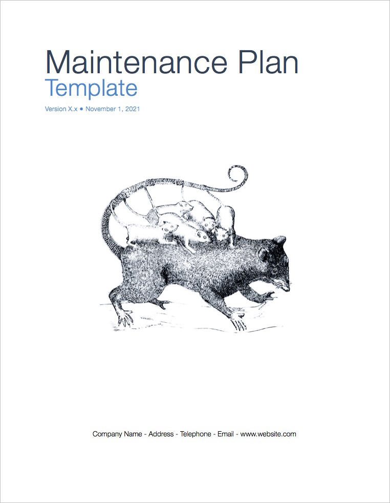 Maintenance_Plan_template_coversheet