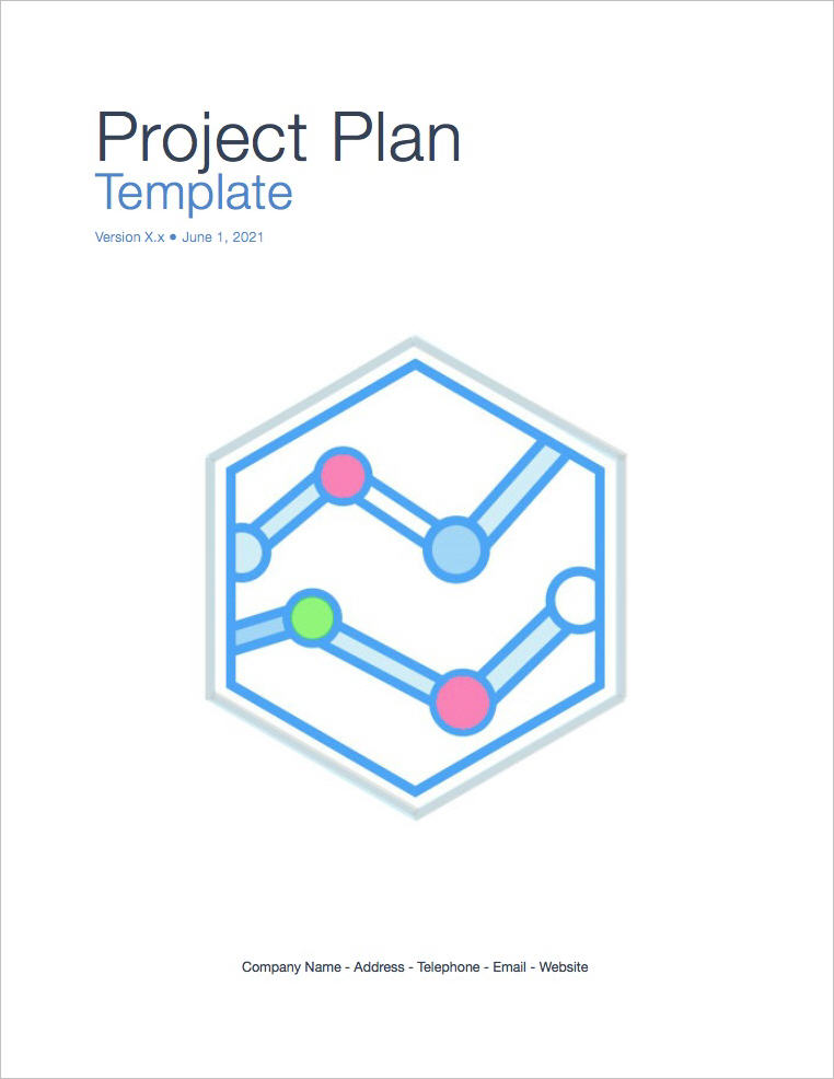 Project Cover Page Template | Project Plan Template Apple Iwork Pages Numbers Templates Forms