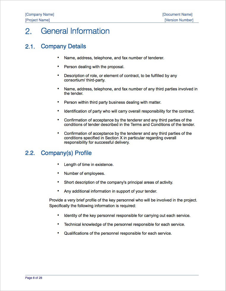 Business Proposal Template (apple Iwork Pages