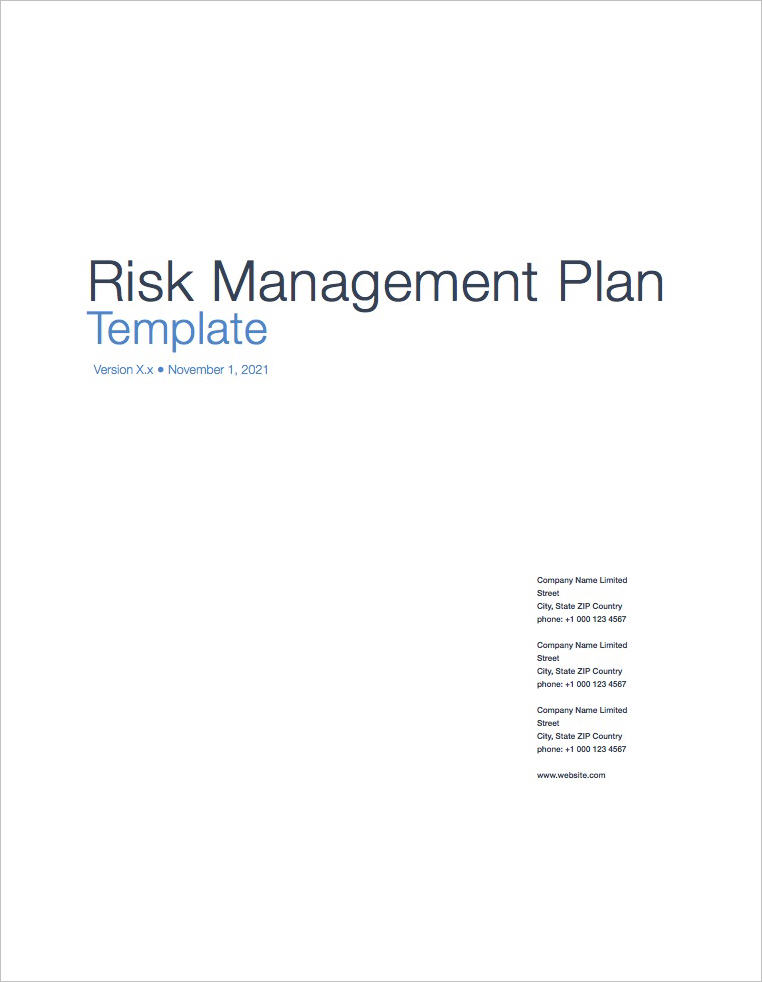 Risk_Management_Plan_Template_Apple_Pages_Coversheet