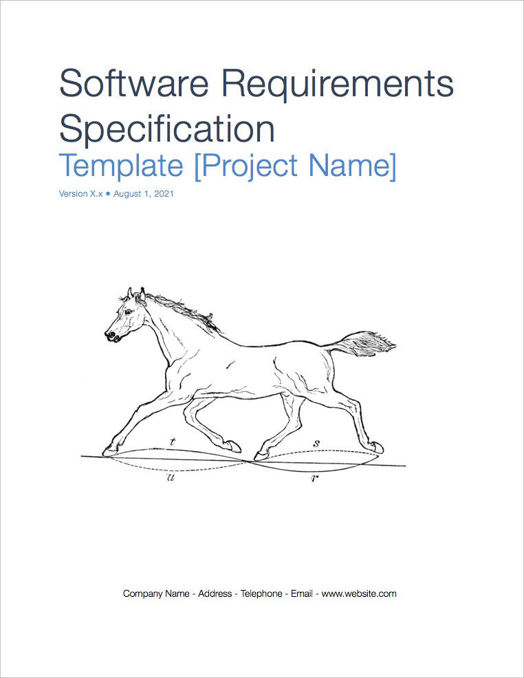 Software Requirements Specification Template Apple Iwork Pages