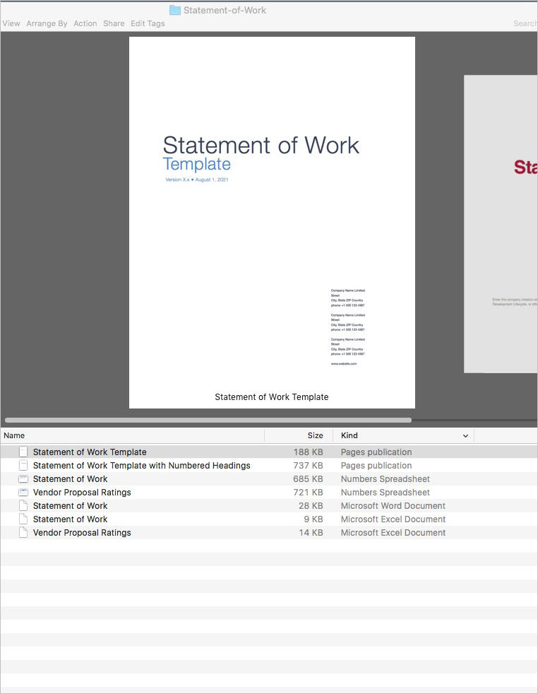 Statement-of-Work-Templates-Apple-iWork-Product-List
