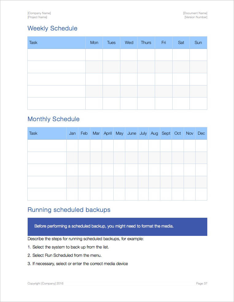 System_Administration_Template-Apple-iWork-Pages-Schedule