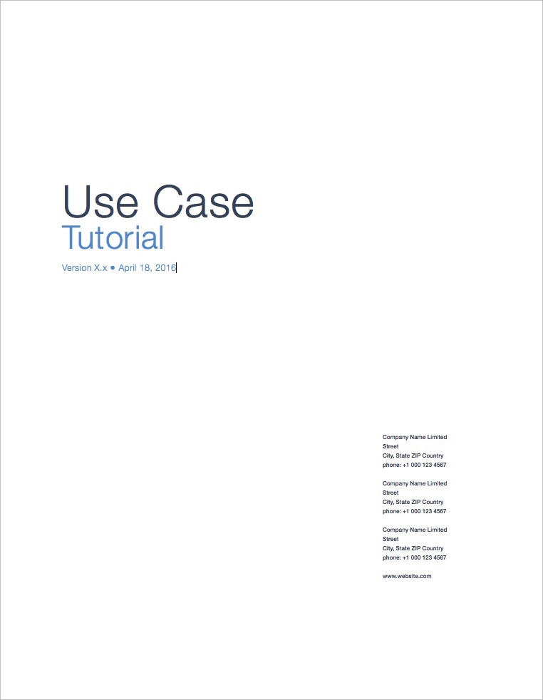 Use-Case-Templates-Apple-iWork-Pages-Tutorial